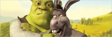 Shrek amigos felices